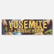 Yosemite Americasbesthistory.com Sticker (Bumper)