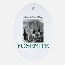 Yosemite Americasbesthistory.com Oval Ornament