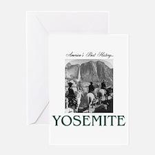 Yosemite Americasbesthistory.com Greeting Card