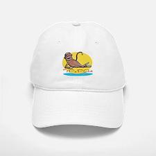 TPoPArt Sock Monkey Baseball Baseball Cap