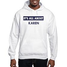 All about KAREN Hoodie
