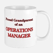 Proud Grandparent of a Operations Manager Mugs