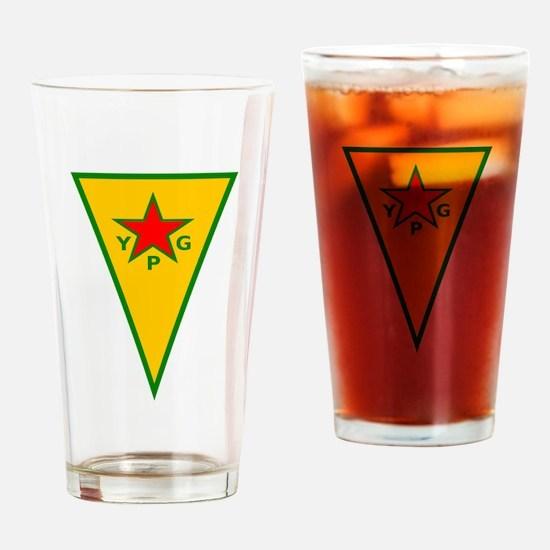 Funny Kurdistan Drinking Glass