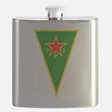 Cute Kurdistan Flask