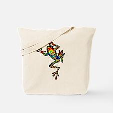 Unique Pacman frog Tote Bag