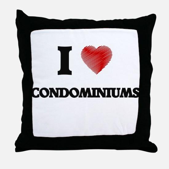condominium Throw Pillow