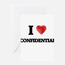 confidential Greeting Cards