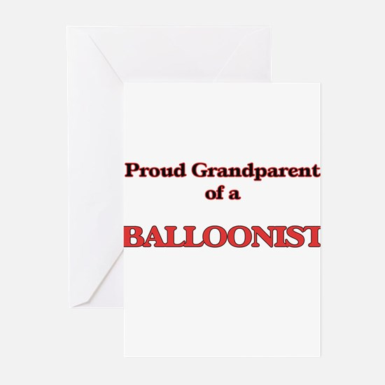 Proud Grandparent of a Balloonist Greeting Cards