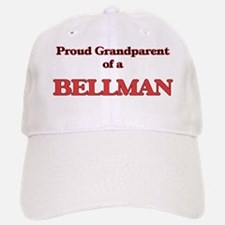 Proud Grandparent of a Bellman Baseball Baseball Cap