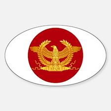 Cute Roman Sticker (Oval)