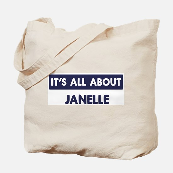 All about JANELLE Tote Bag