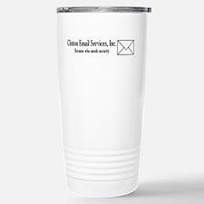 Clinton Email Travel Mug