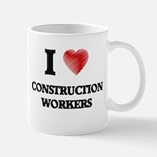 Construction Worker Mugs