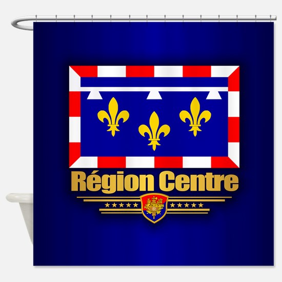 Region Centre Shower Curtain