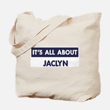 All about JACLYN Tote Bag