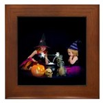 Conjuring Fairies Framed Tile