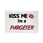 Kiss Me I'm a PARGETER Rectangle Magnet (10 pack)