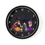 Conjuring Fairies Wall Clock