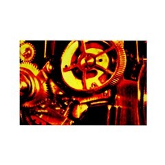 Red Hot Gears on Rectangle Magnet (100 pack)