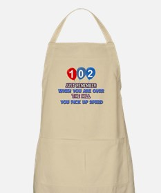 102 year old designs Apron