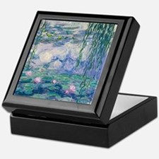 Water Lilies Claude Monet Fine Art Keepsake Box
