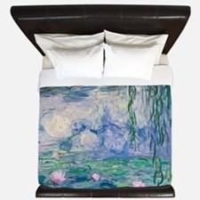 Water Lilies Claude Monet Fine Art King Duvet