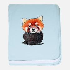 KiniArt Red Panda baby blanket