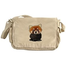 KiniArt Red Panda Messenger Bag