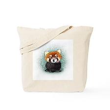 KiniArt Red Panda Tote Bag