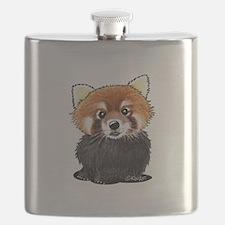 KiniArt Red Panda Flask