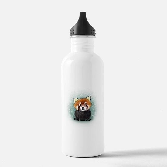 KiniArt Red Panda Water Bottle
