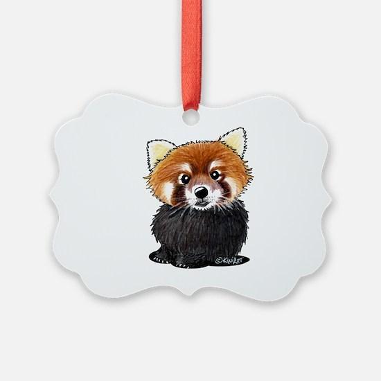 KiniArt Red Panda Ornament