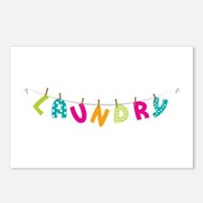 Laundry Postcards (Package of 8)