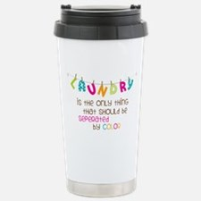 Seperated By Color Travel Mug