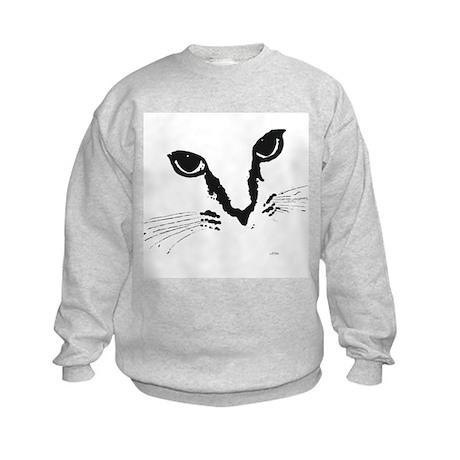 Cat Eyes Kids Sweatshirt