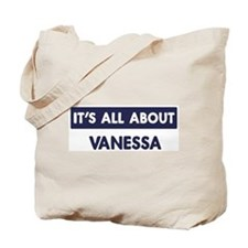All about VANESSA Tote Bag