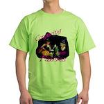 Conjuring Fairies Green T-Shirt