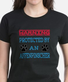 Warning Protected by an Affen Tee