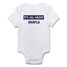 All about SHAYLA Infant Bodysuit