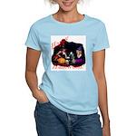 Little Witches Halloween Women's Light T-Shirt