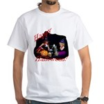 Little Witches Halloween White T-Shirt