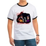 Little Witches Halloween Ringer T