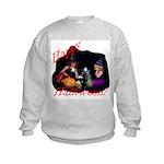 Little Witches Halloween Kids Sweatshirt