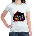 Little Witches Halloween Jr. Ringer T-Shirt