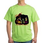 Little Witches Halloween Green T-Shirt