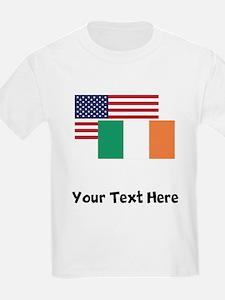 American And Irish Flag T-Shirt