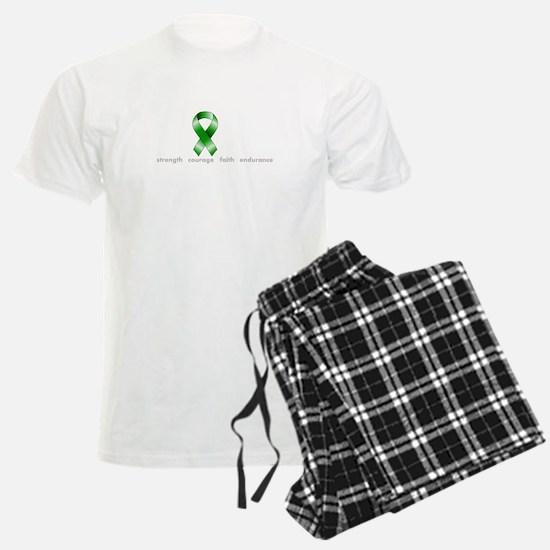 Green Ribbon Hope Pajamas