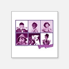 """The Little Rascals Group De Square Sticker 3"""" x 3"""""""