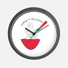 Cooking Passion Wall Clock