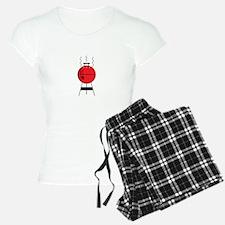 Red BBQ Gril Pajamas